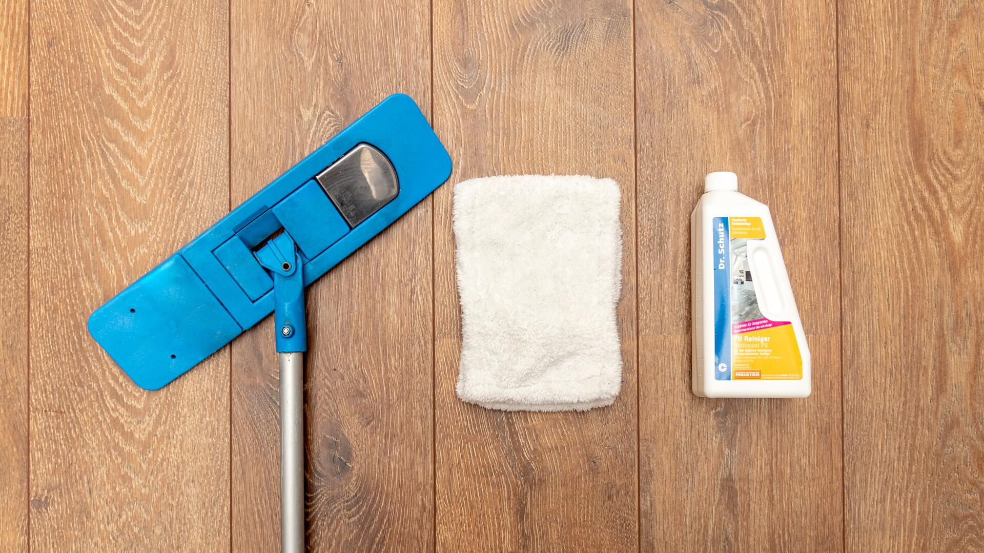 Reiniging en onderhoud van laminaatvloeren