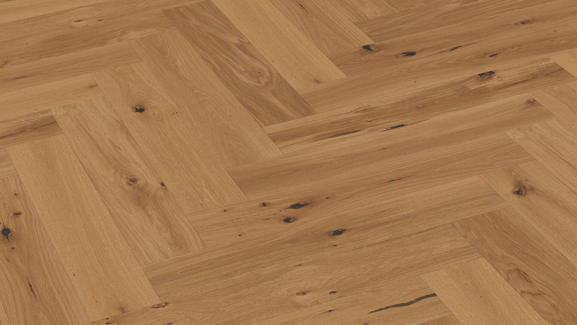 Parquet flooring MeisterParquet. longlife PS 500 Gently smoked vital oak 8811