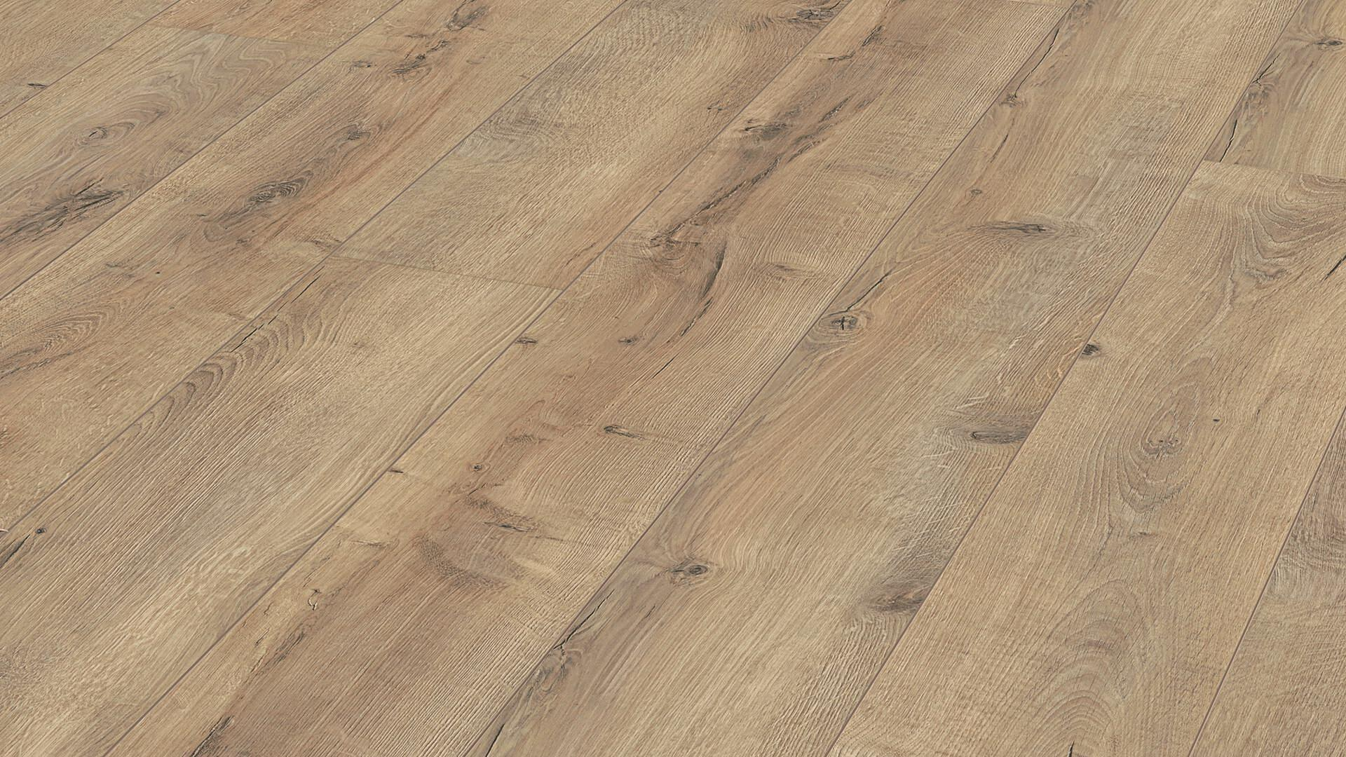Laminate flooring MeisterDesign. laminate LL 200 Cracked Terra oak 6439