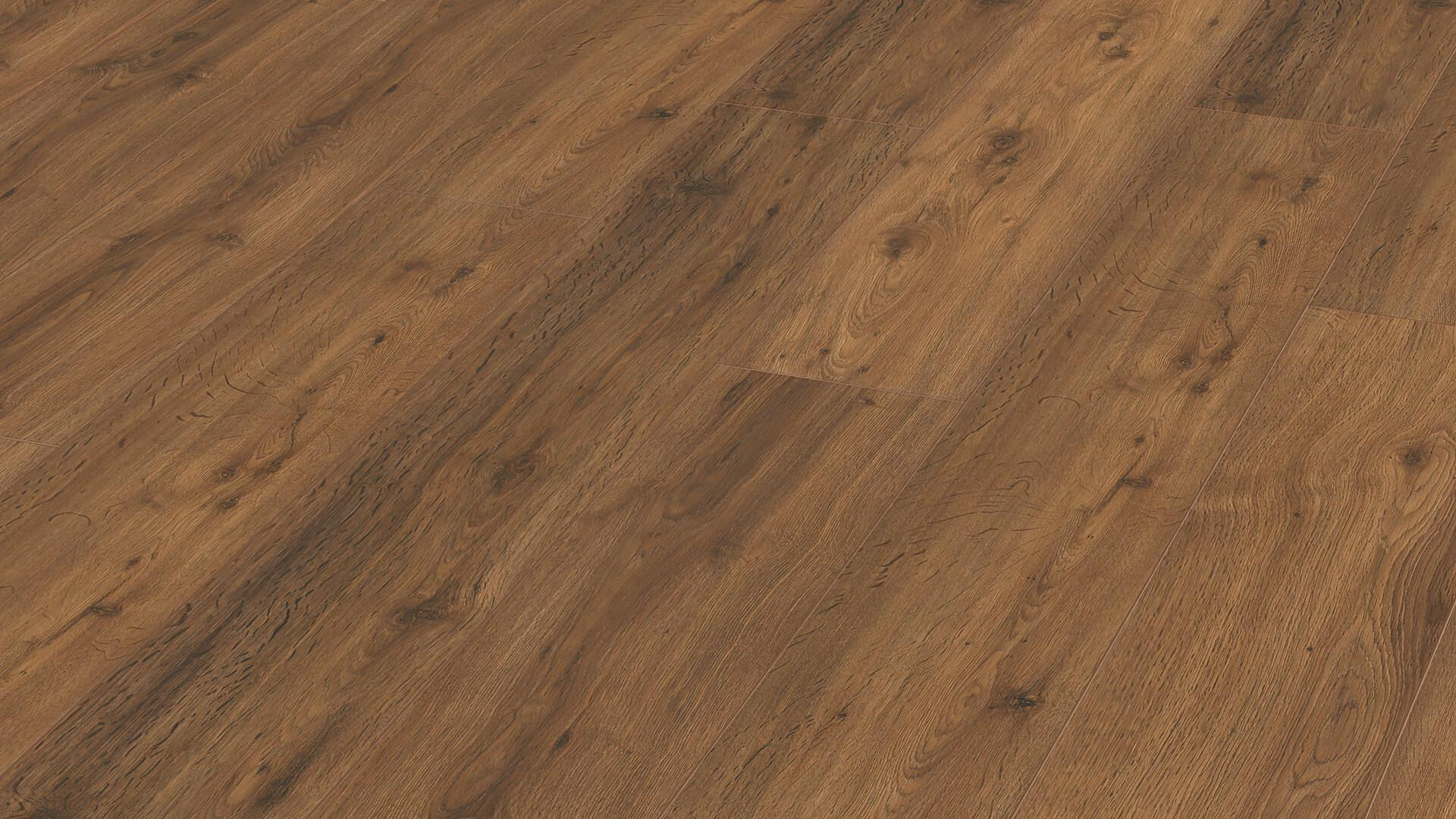 Laminate flooring MeisterDesign. laminate LD 150 Brown Chiemsee oak 6377