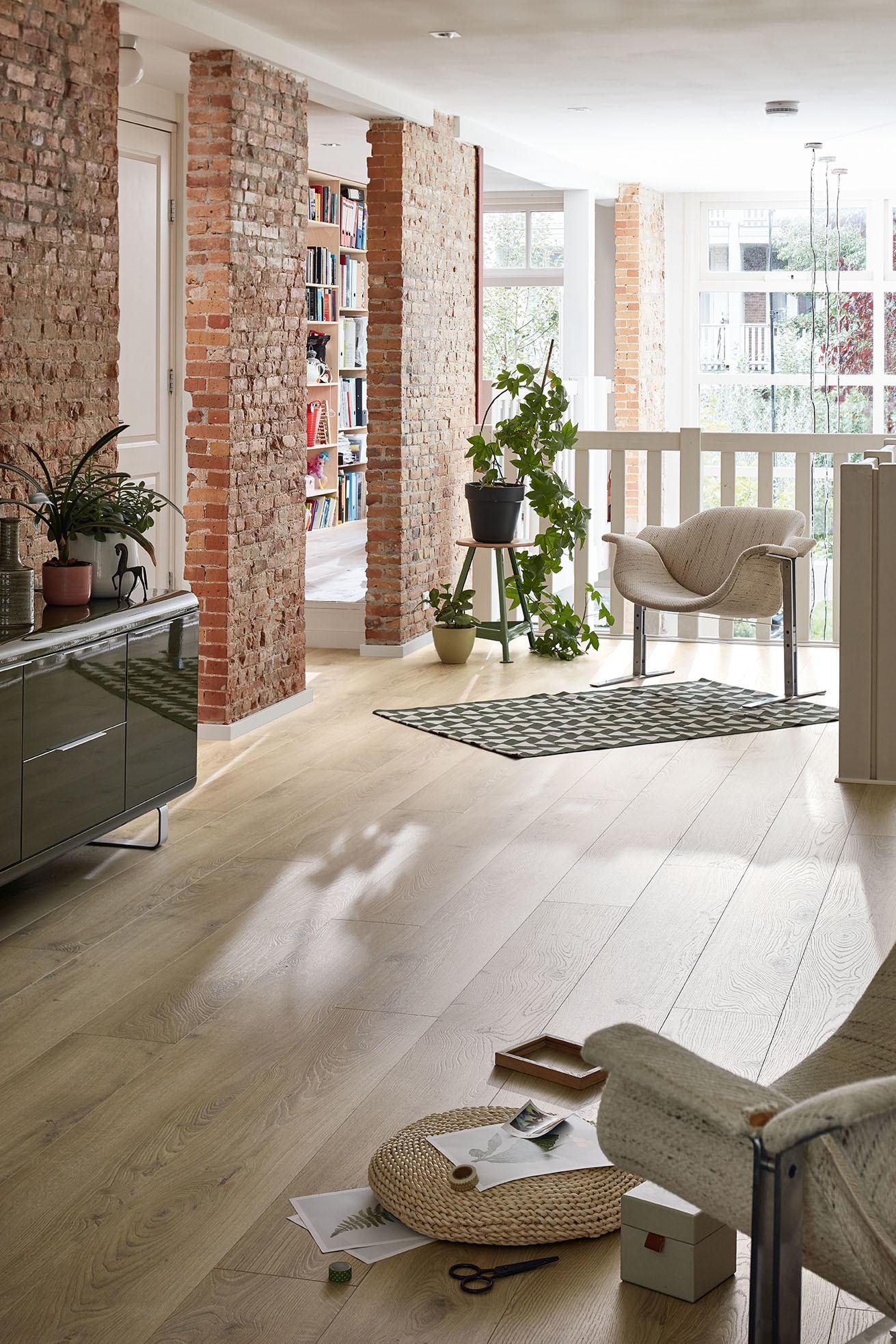 Designboden von MEISTER für gesundes und schönes Wohnen