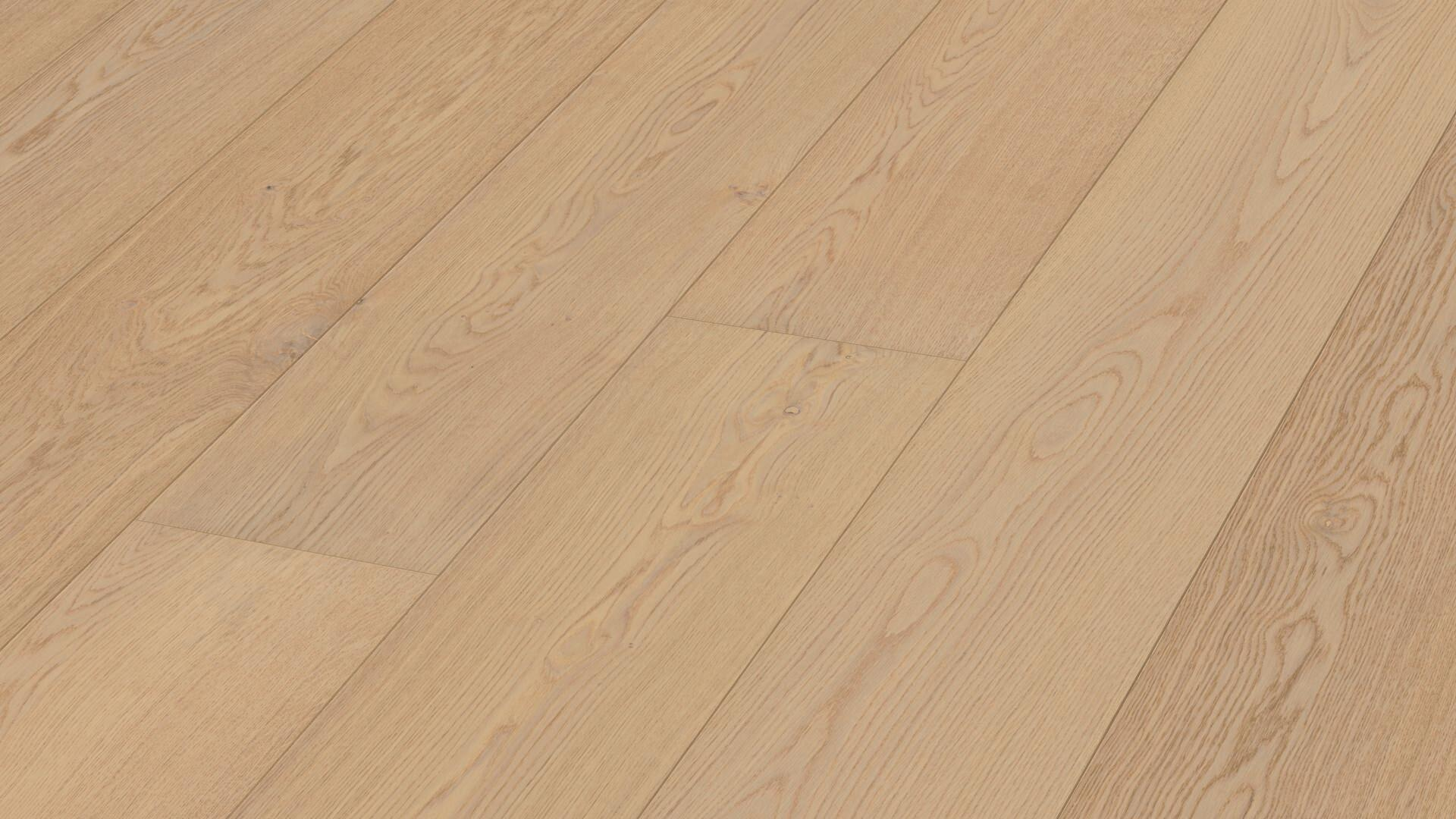 Lindura wood flooring HD 400 Natural alabaster oak 8734