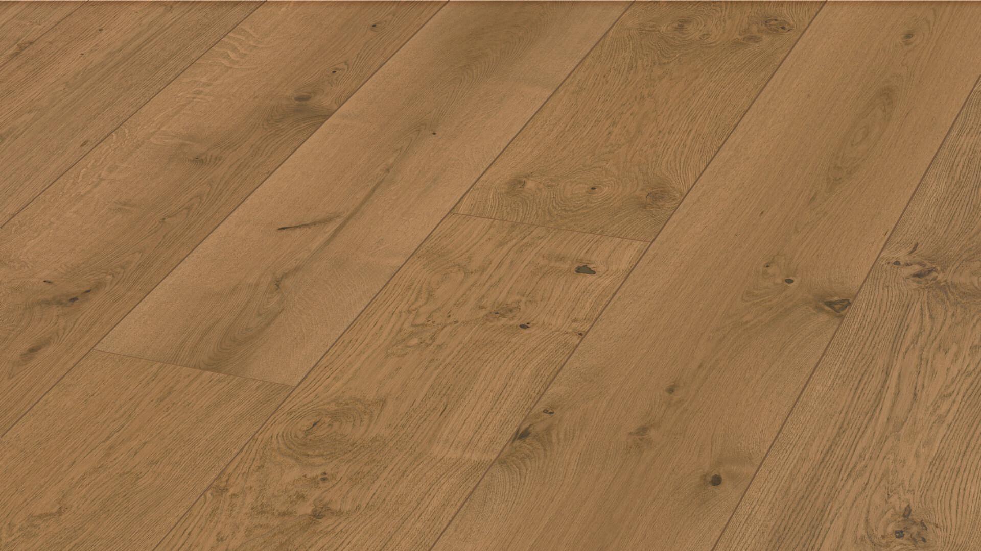 Sol en bois Lindura HD 400 Chêne animé cappuccino 8747