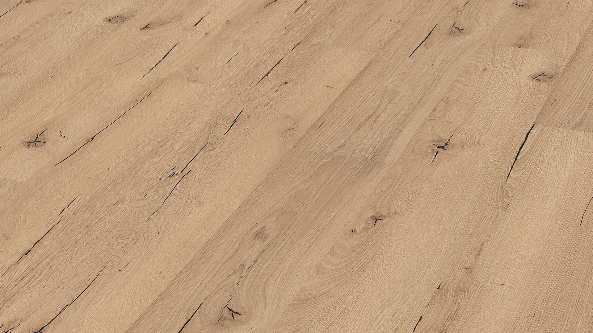 Laminate flooring MeisterDesign. laminate LC 55 Light cracked oak 6258