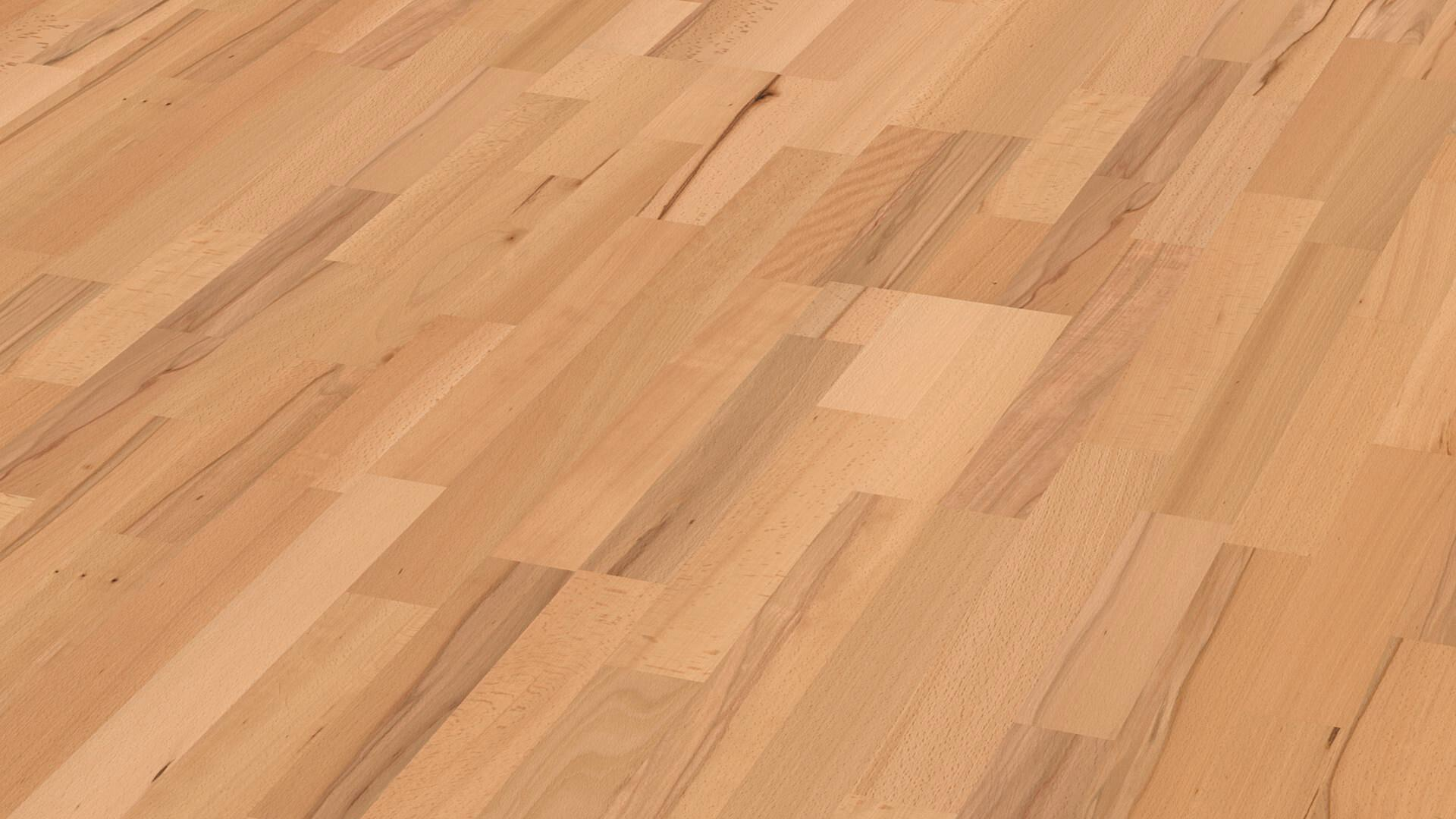 Parquet flooring MeisterParquet. longlife PC 200 Steamed beech lively 921