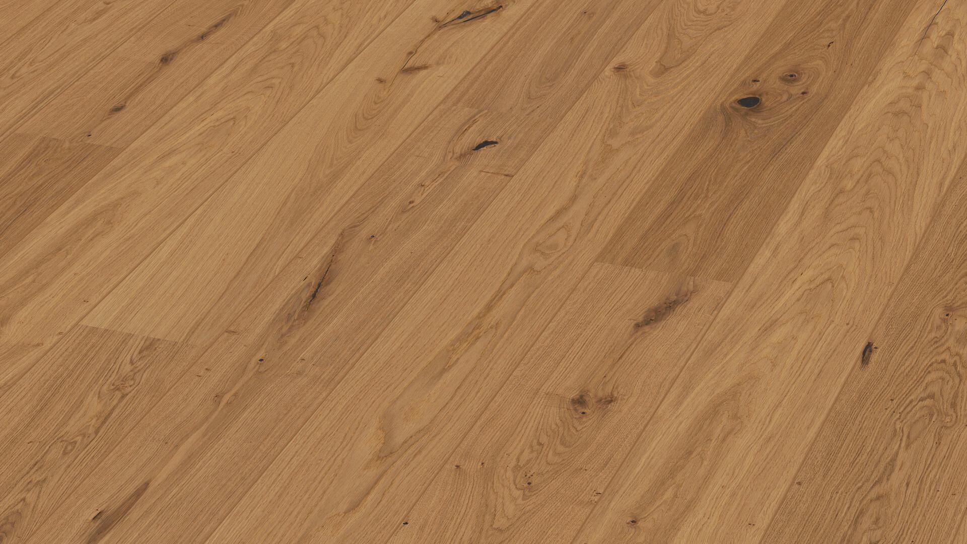Parquet flooring MeisterParquet. longlife PD 400 Gently smoked vital oak 8811