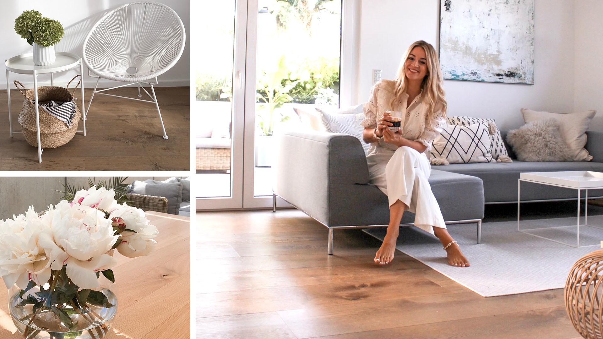 Einstiegsbilder Homestory Lindura-Holzboden bei Linda Sophia