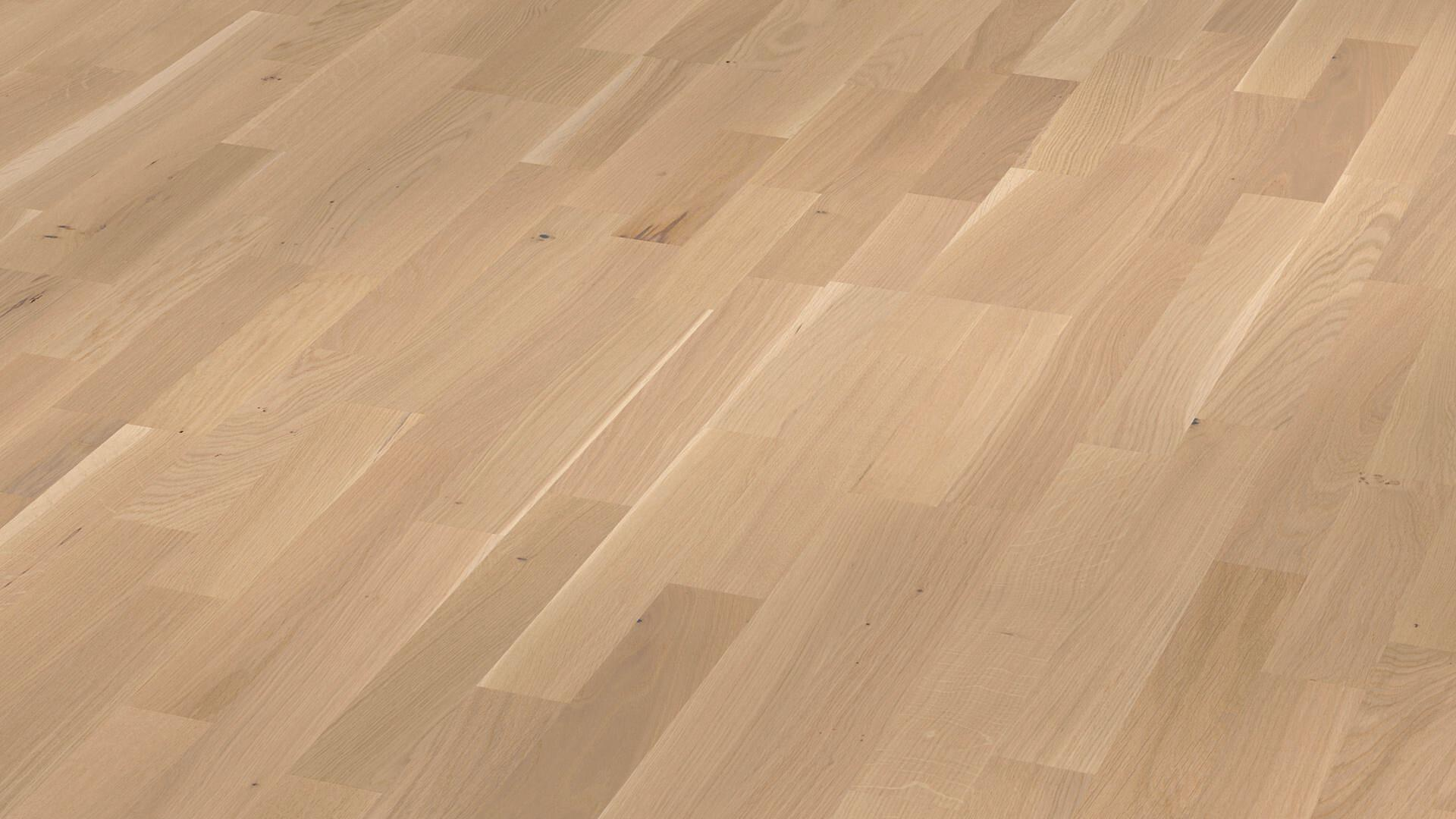 Parquet flooring MeisterParquet. longlife PC 200 Off-white oak lively 8349