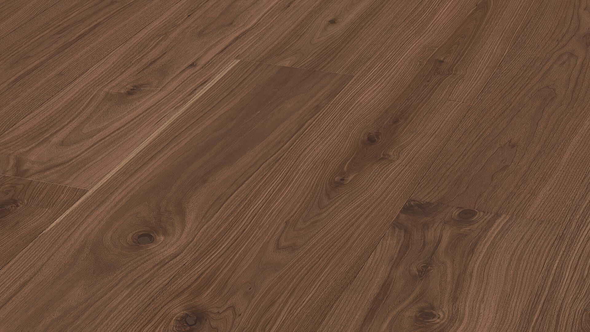 Lindura wood flooring HD 400 American walnut lively 8523