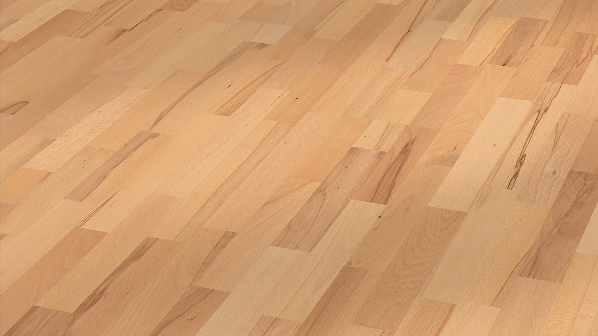 Parquet flooring MeisterParquet. longlife PC 200 Steamed beech lively 8186