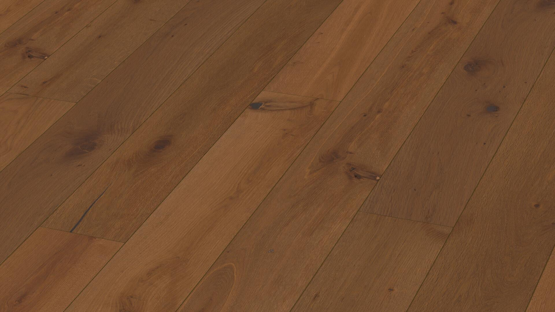 Parquet Tablones de casa de campo Flamas alpinos Roble Herrenalm 8838