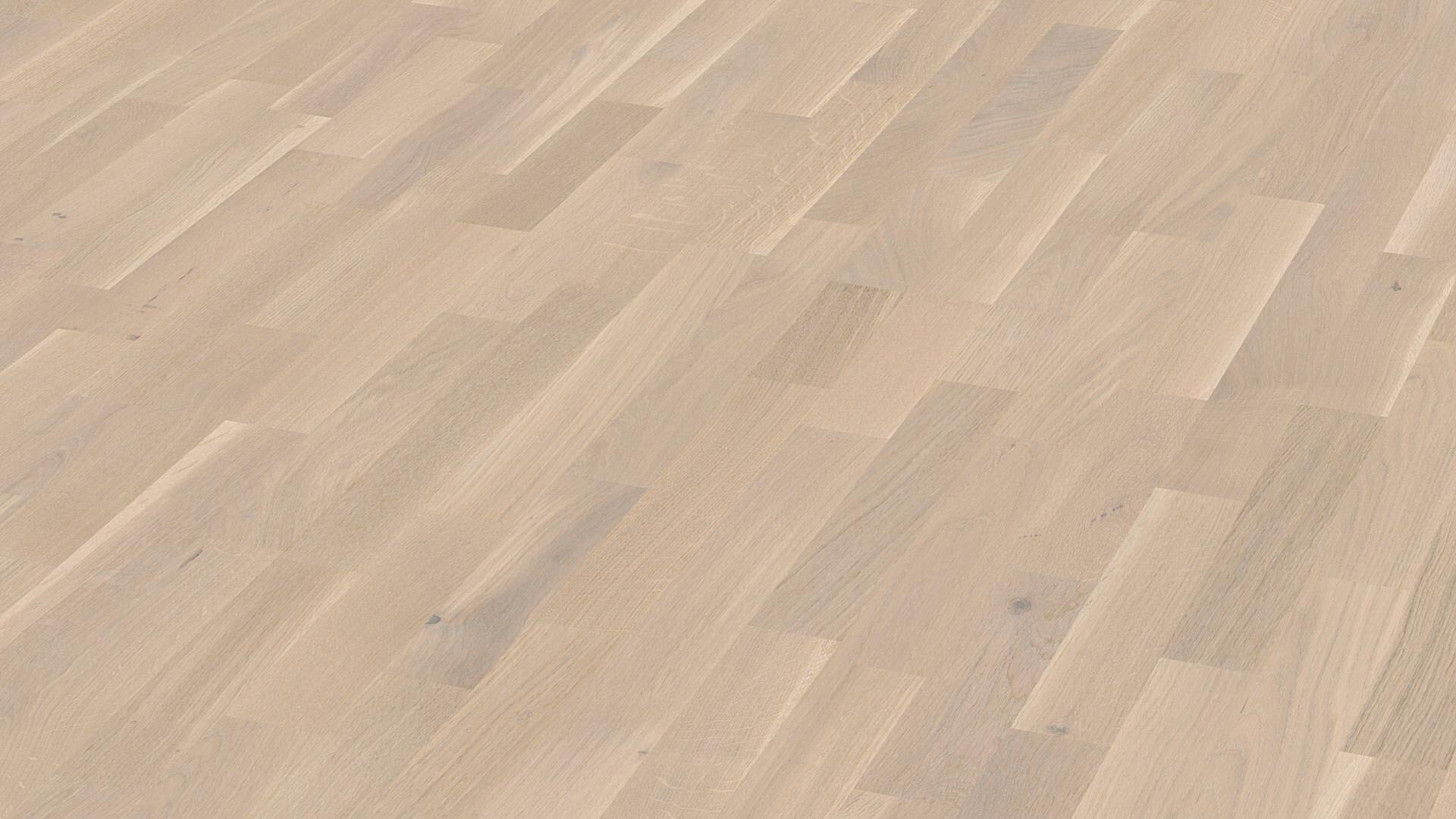 Parquet flooring MeisterParquet. longlife PC 200 Off-white oak lively 8460