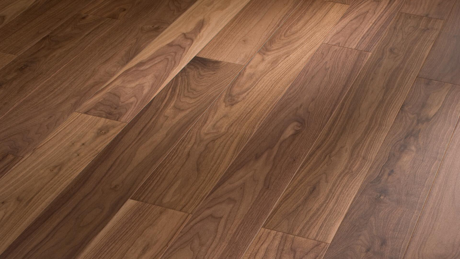 Parquet flooring MeisterParquet. longlife PS 300 American walnut lively 8044