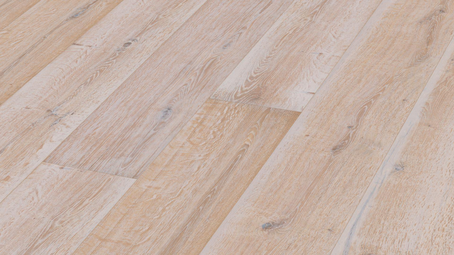 Lindura wood flooring HD 400 Authentic white washed oak 8742