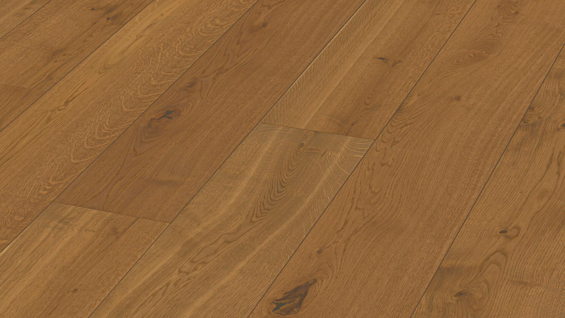 Lindura wood flooring HD 400 Authentic dry wood oak 8748