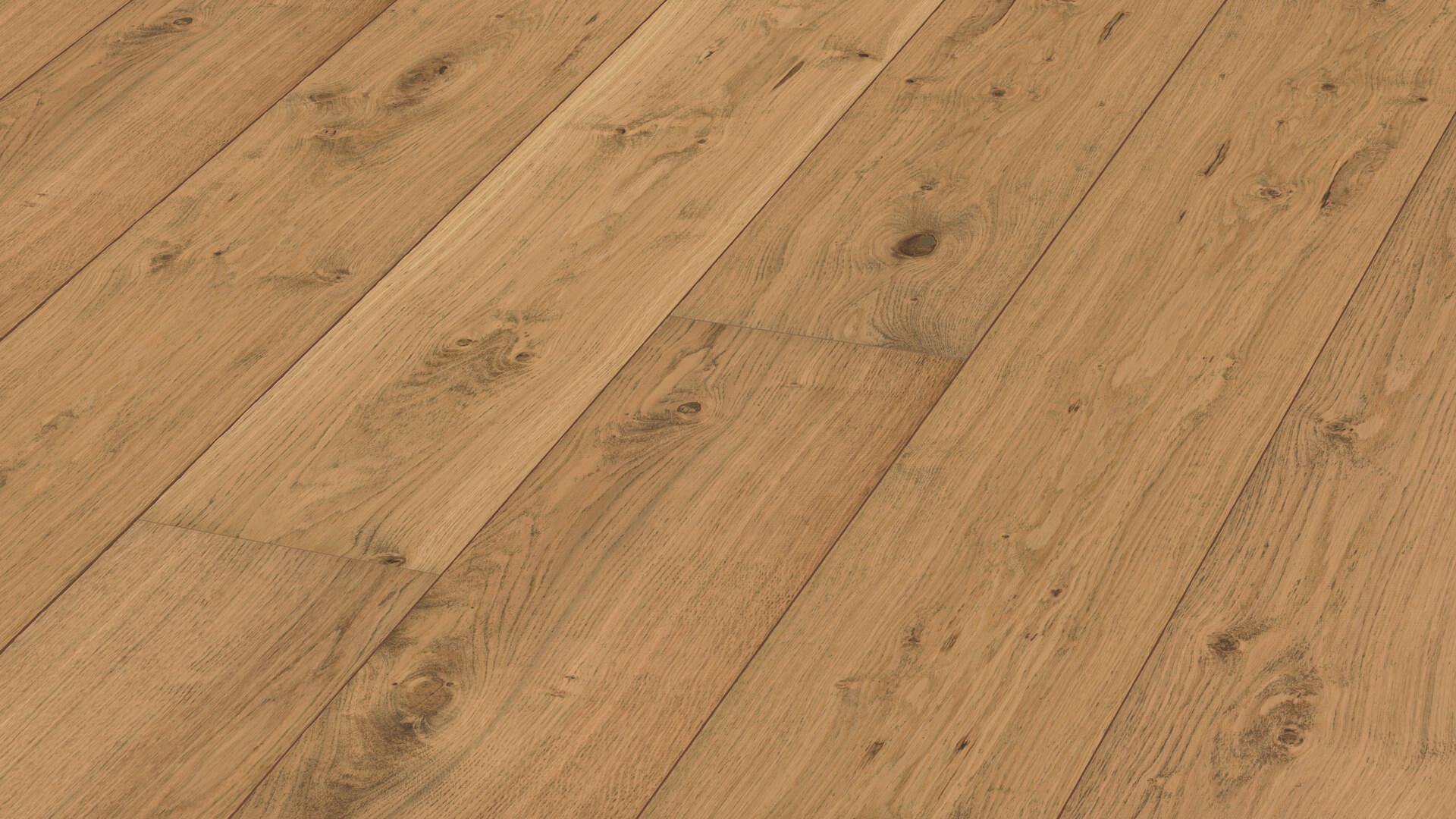 Lindura wood flooring HD 400 Pure rustic oak 8413
