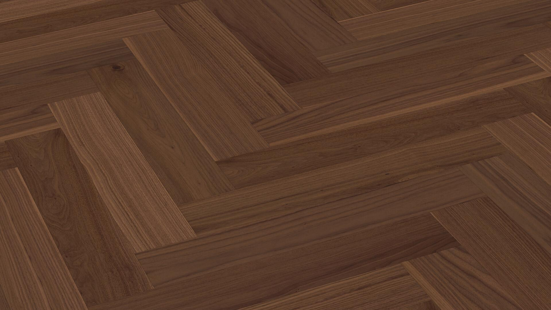 Parquet flooring MeisterParquet. longlife PS 500 American walnut lively 8044