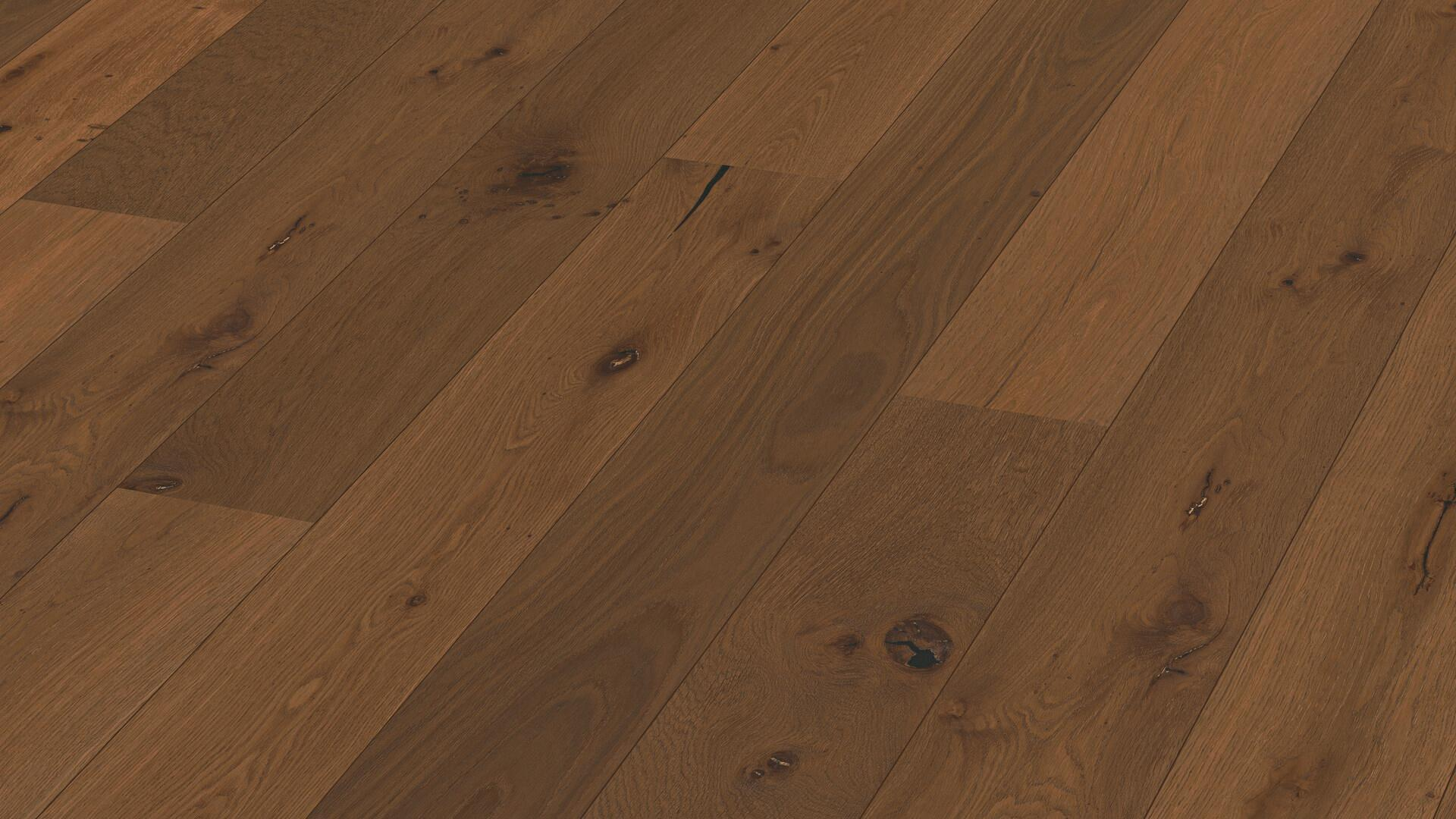 Parquet flooring MeisterParquet. longlife PD 400 Steamed vital oak 8813