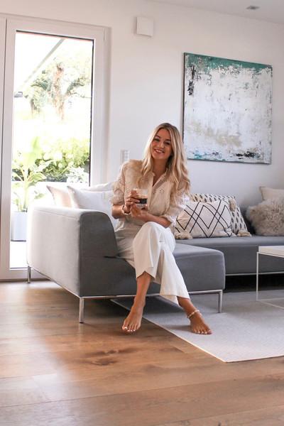 Lindura-Holzboden im Wohnzimmer bei Linda Sophia