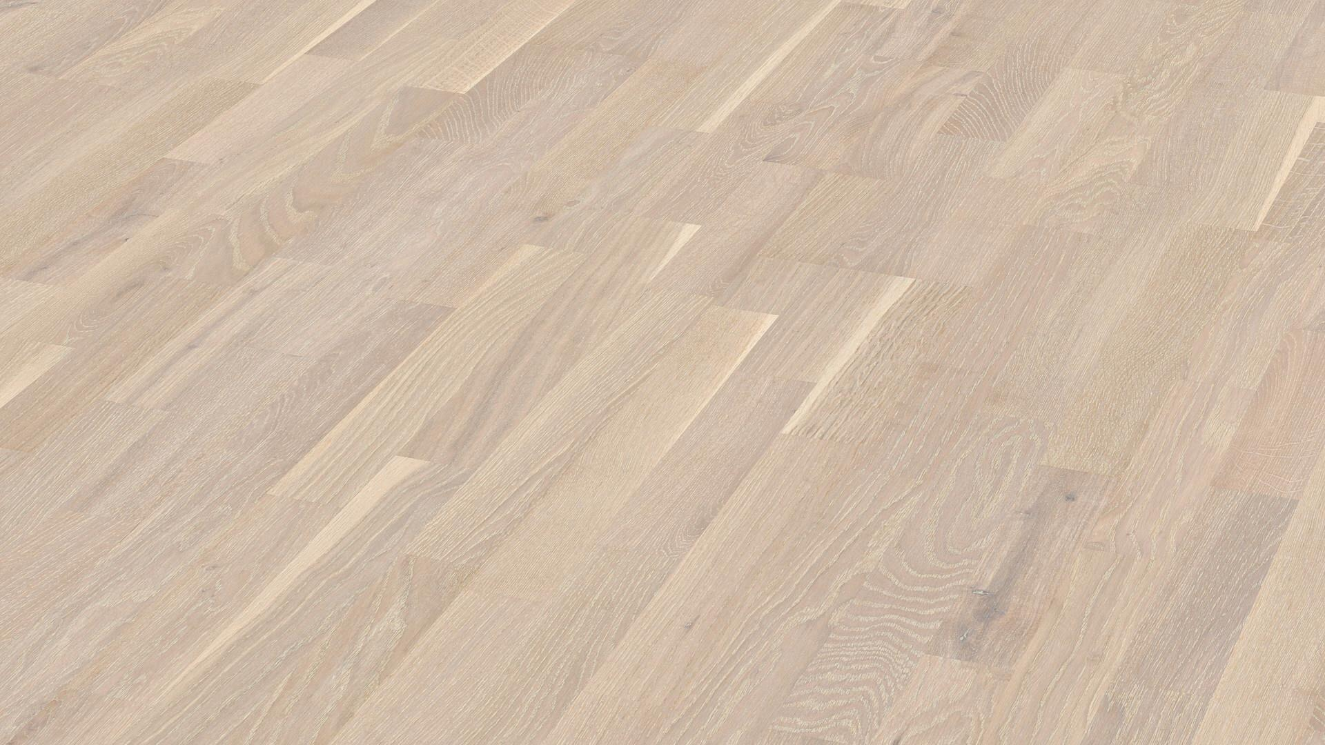 Parquet flooring MeisterParquet. longlife PC 200 Limed white oak lively 8480