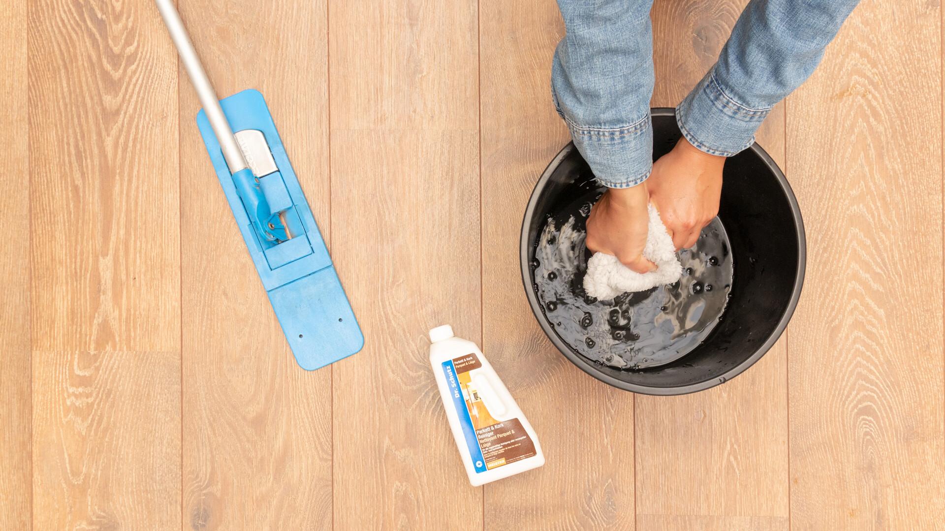 Limpiar y cuidar parquet y Lindura