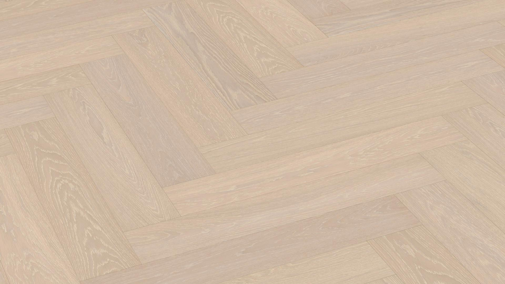 Parquet flooring MeisterParquet. longlife PS 500 Off-white limed oak harmonious 8815