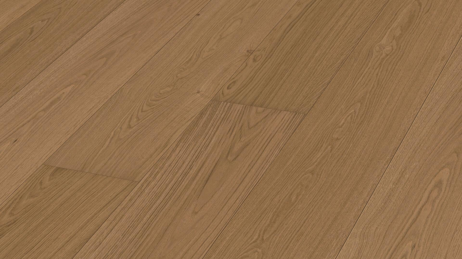 Lindura wood flooring HD 400 Natural light brown oak 8731