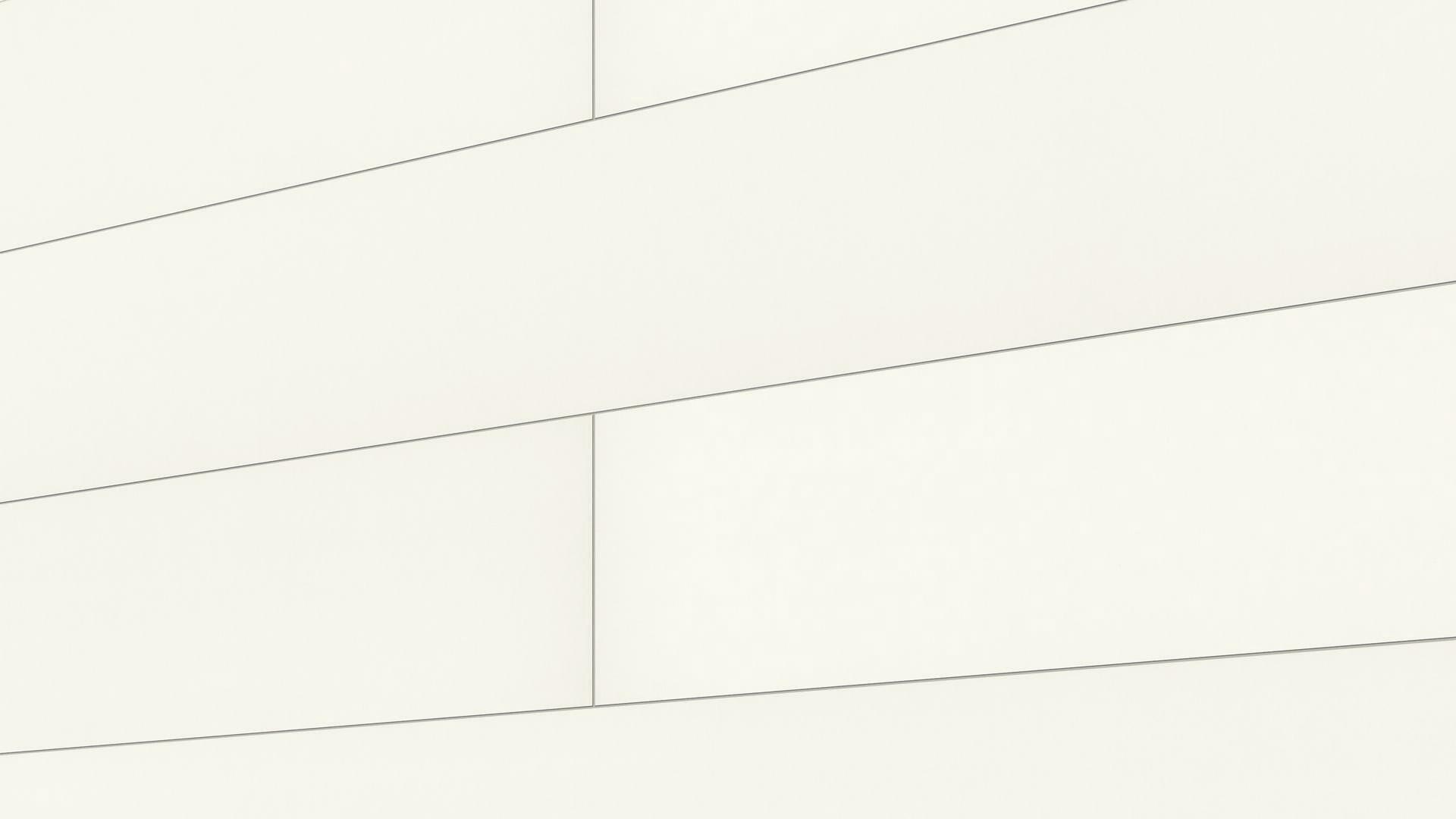 Dekorpaneele Bocado 300 Uni weiß glänzend DF 324