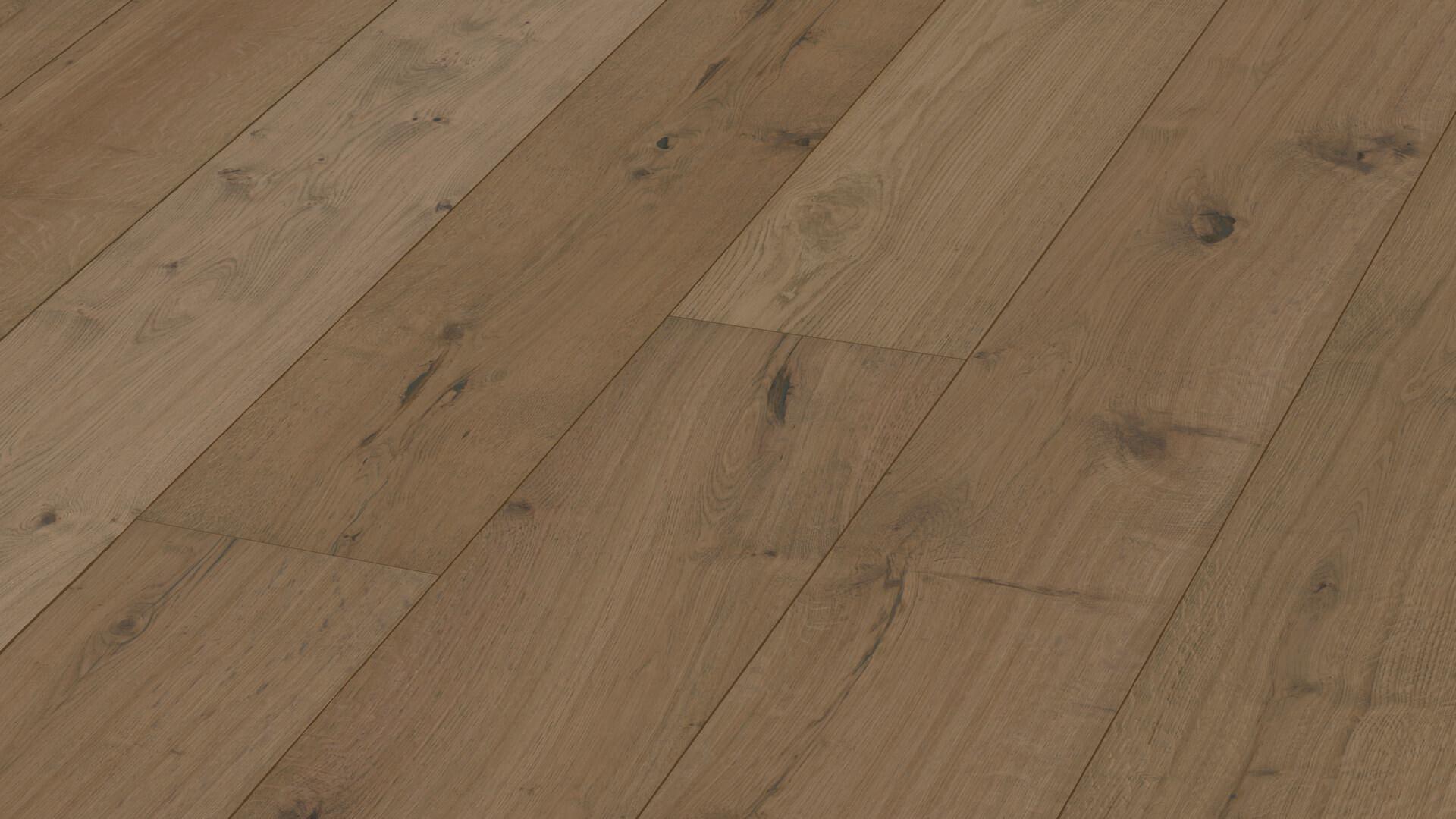 Suelo de madera Lindura HD 400 Roble rústico gris barro 8411