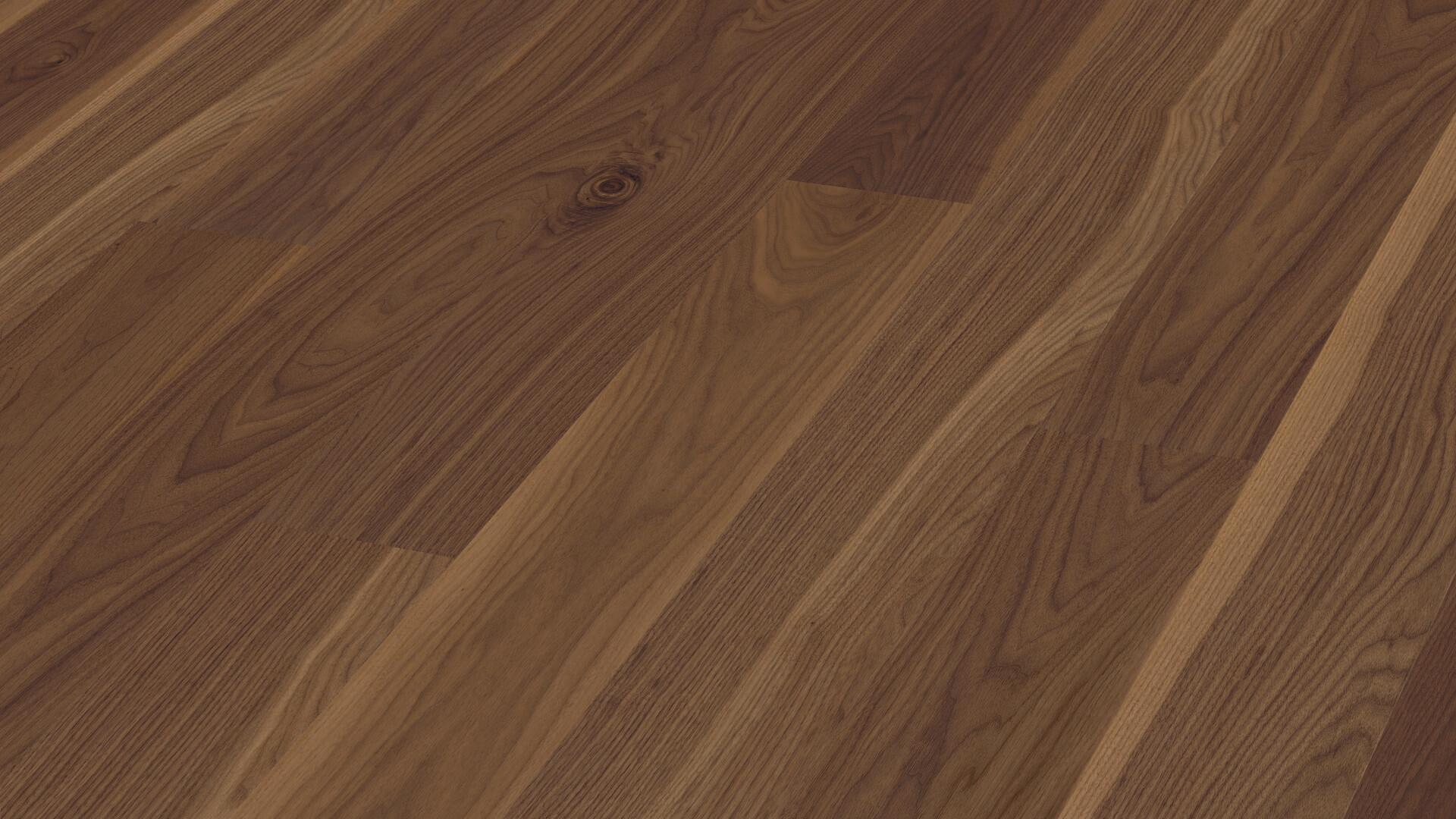 Parquet flooring MeisterParquet. longlife PD 400 American walnut lively 8275