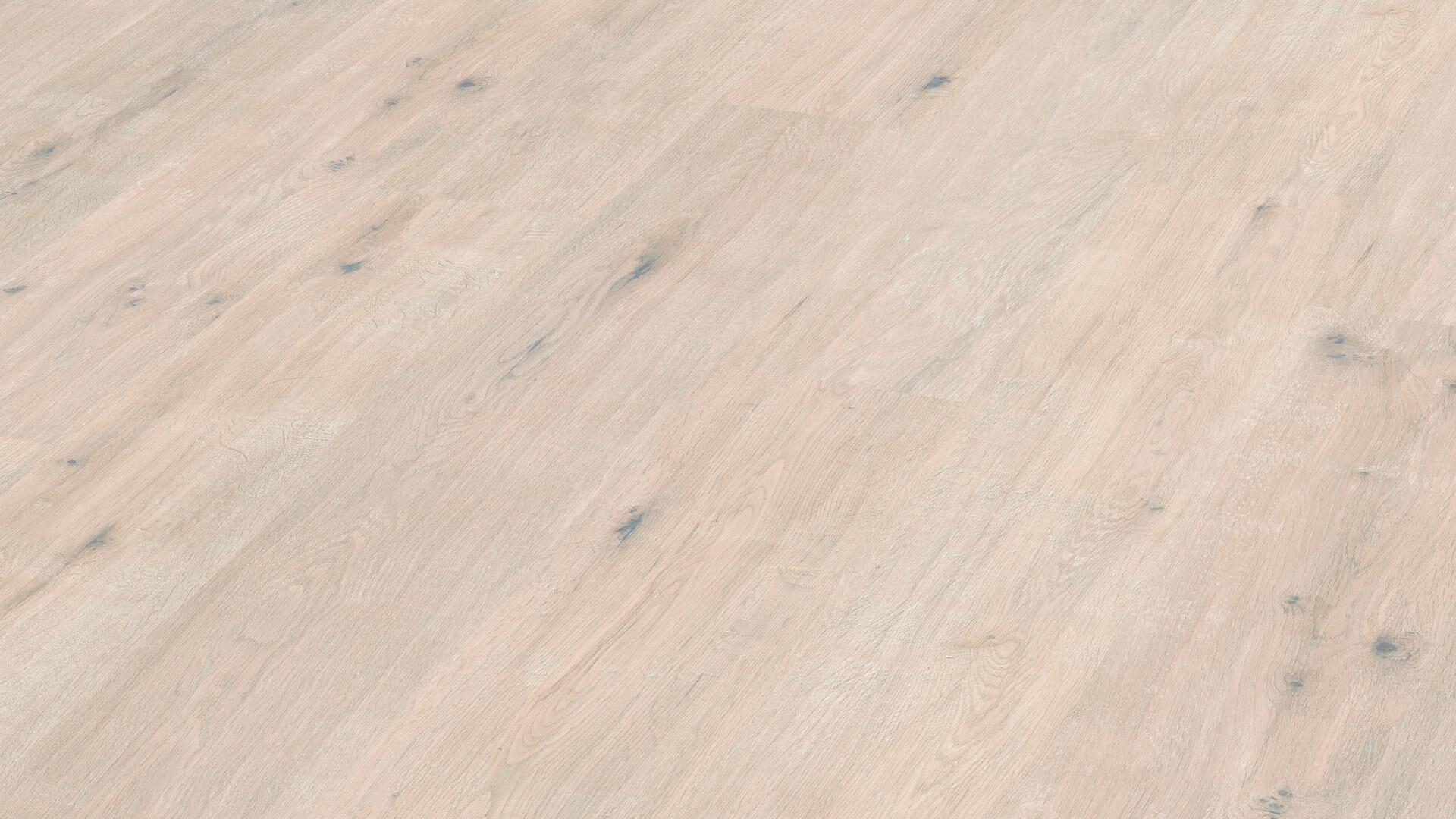 Suelo laminado MeisterDesign. laminate LC 150 Roble nudoso blanco crema 6947