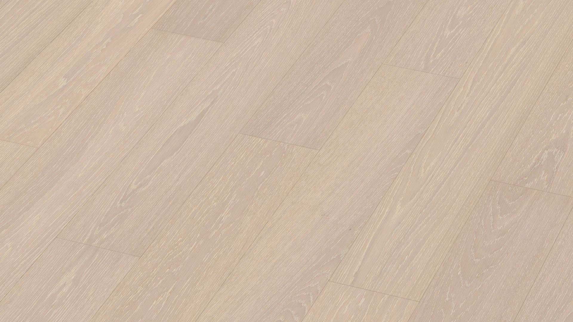 Parquet flooring MeisterParquet. longlife PS 300 Off-white limed oak harmonious 8815