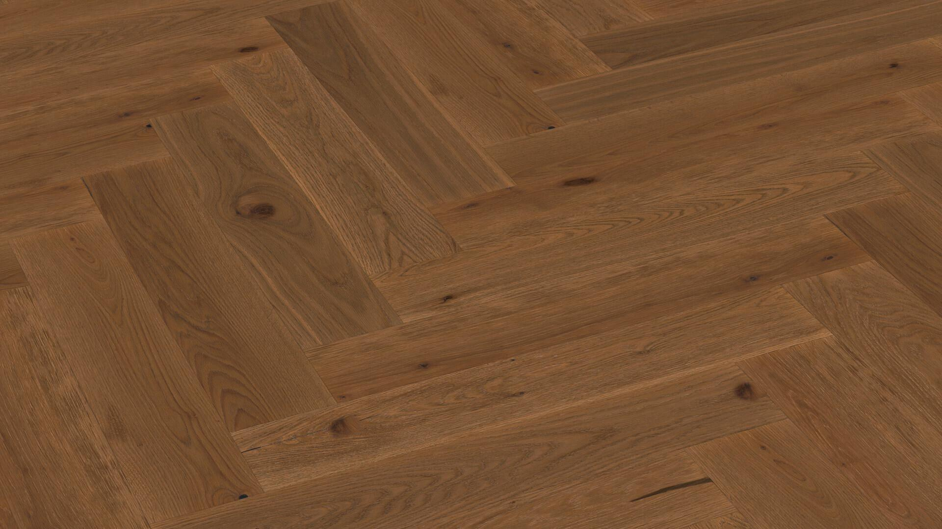 Parquet flooring MeisterParquet. longlife PS 500 Steamed vital oak 8813