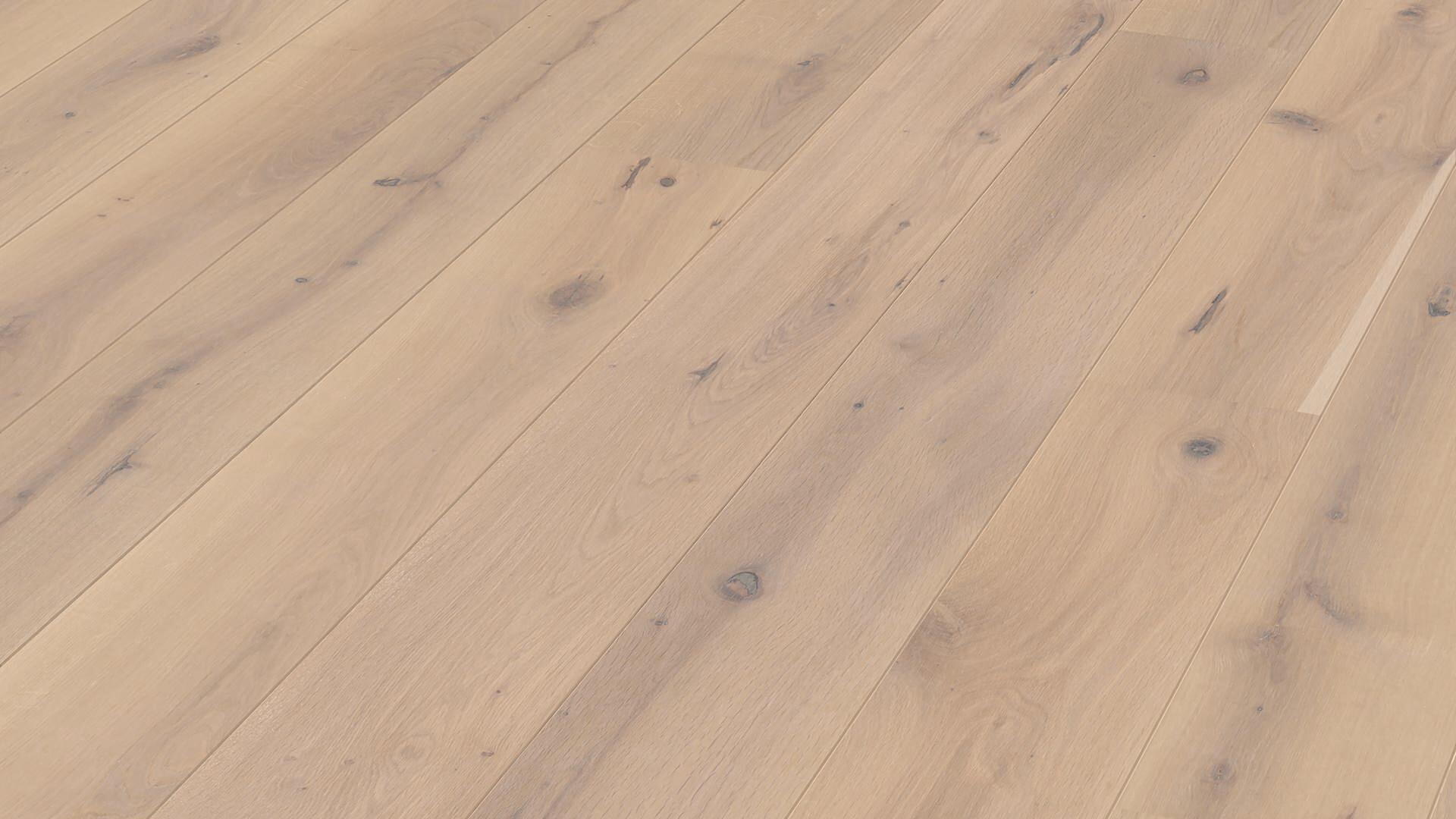 Parquet flooring MeisterParquet. longlife PD 200 Off-white rustic oak 8456