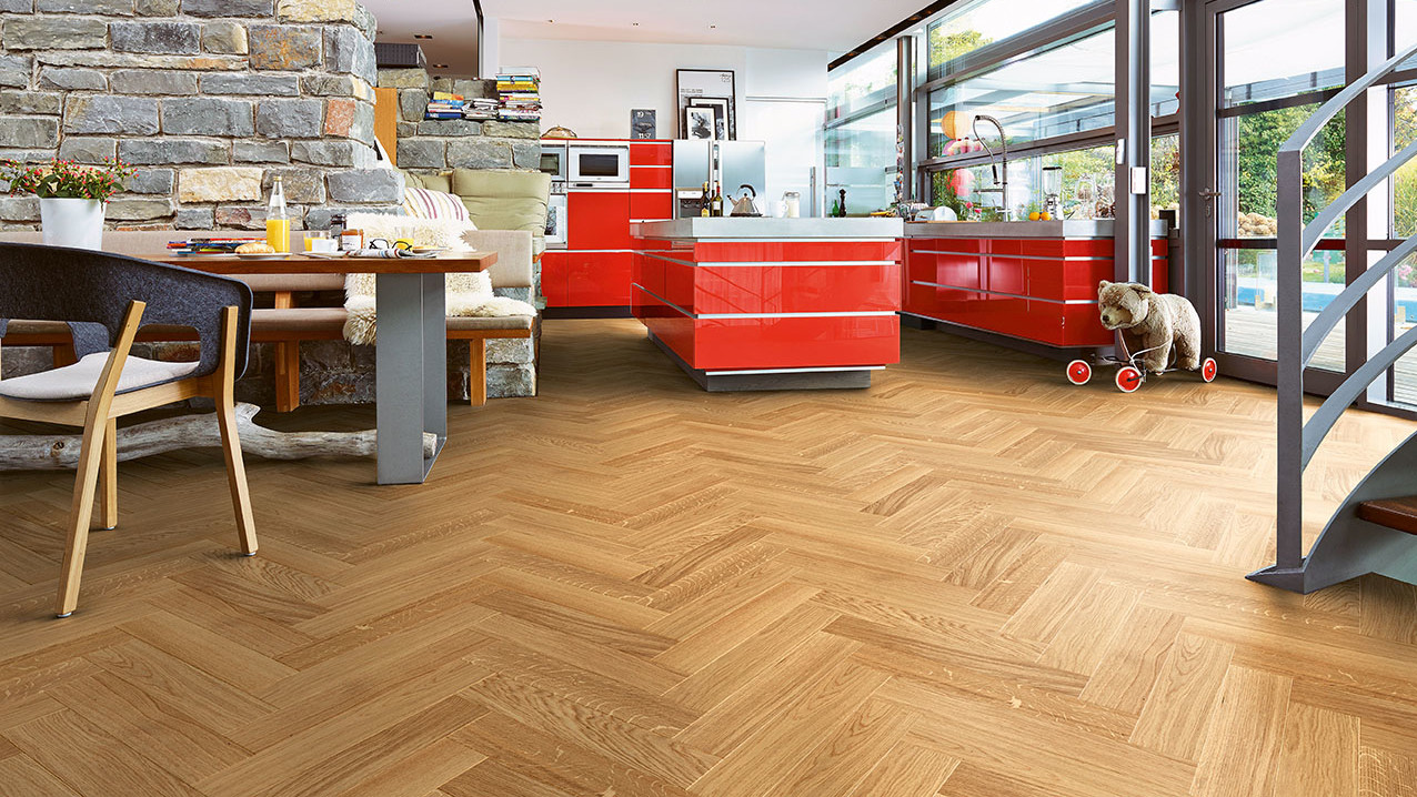 Herringbone Parquet From Meister With A