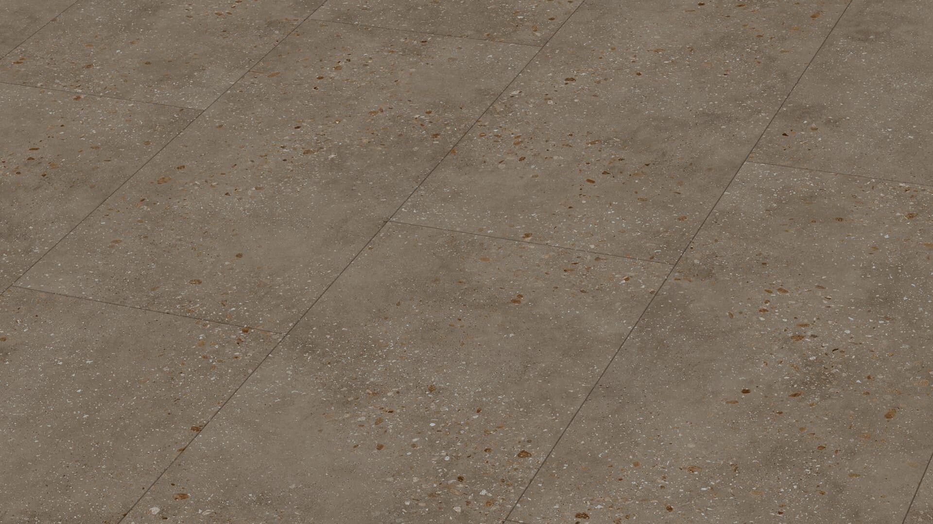 Design flooring MeisterDesign. flex DB 400 Dark terrazzo 6858
