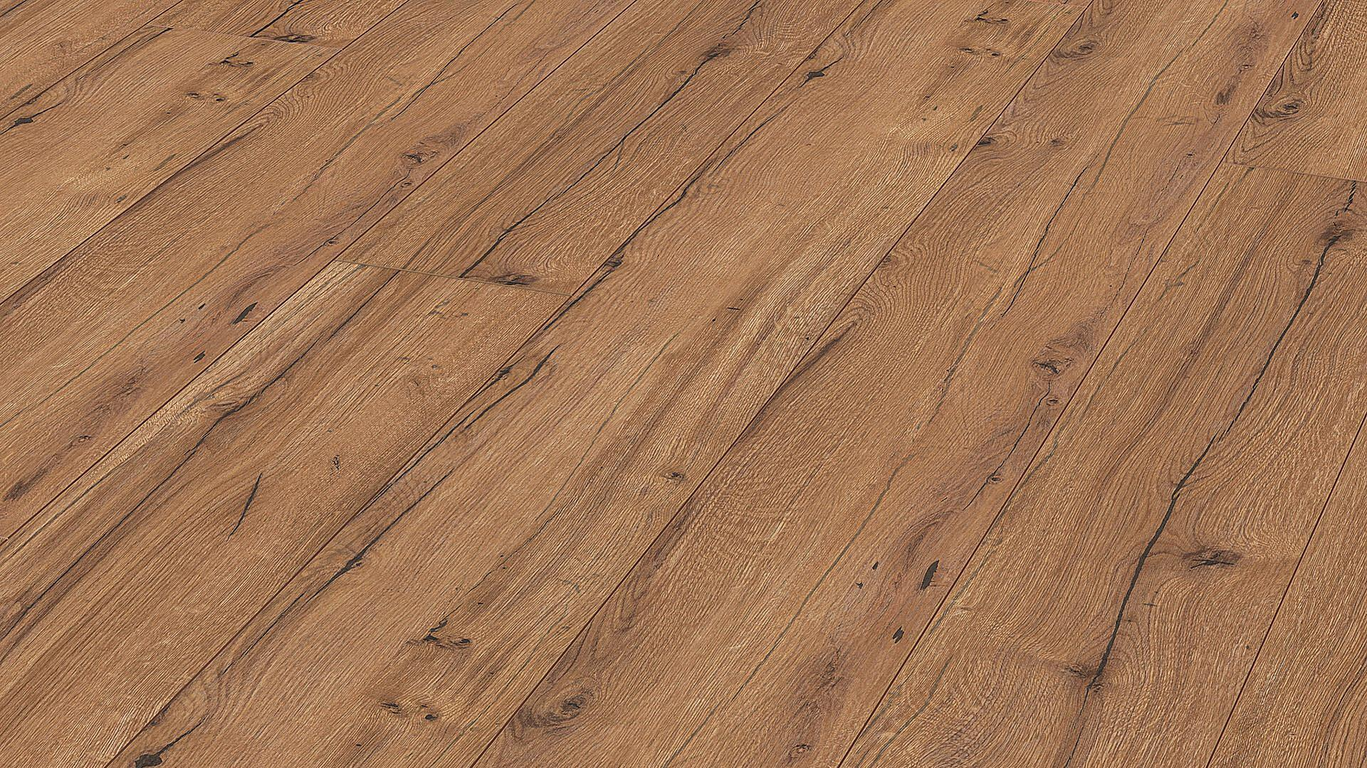Laminate flooring MeisterDesign. laminate LL 150 Cognac rustic oak 6256