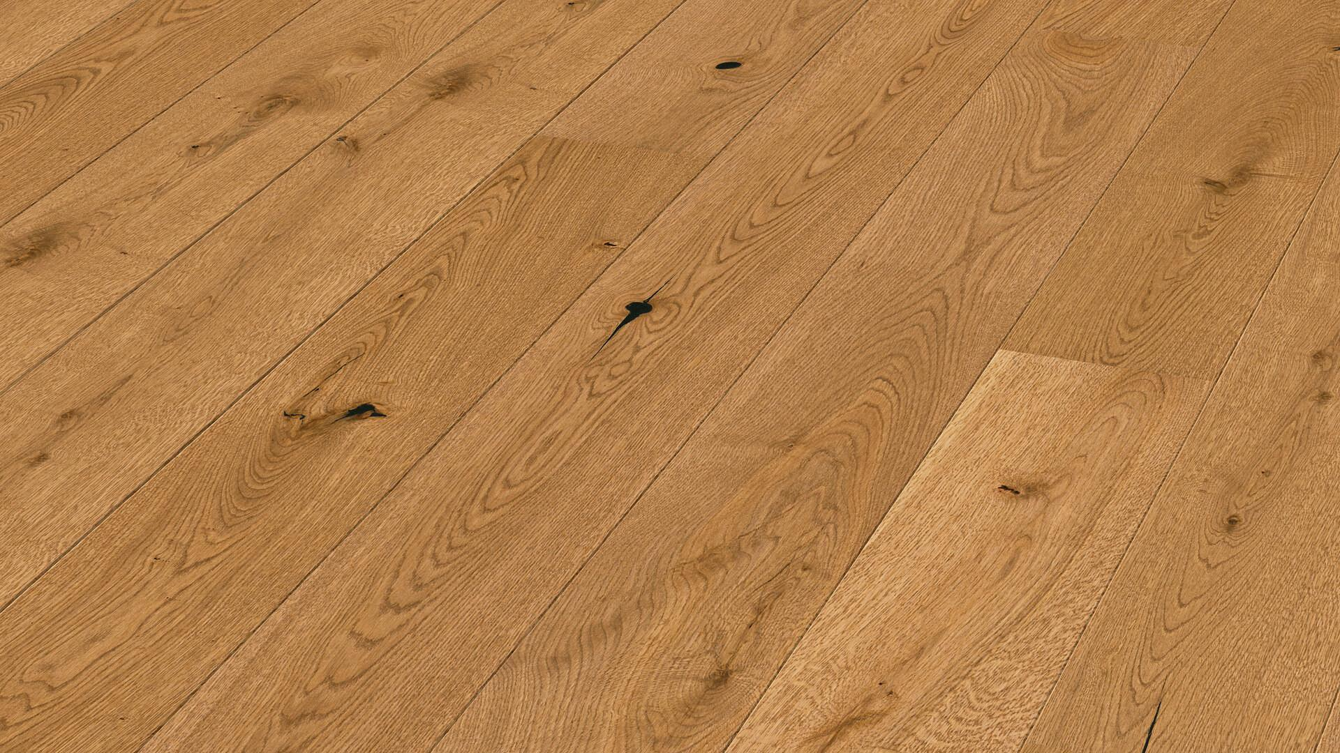 Parquet flooring MeisterParquet. longlife PD 200 Golden brown rustic oak 8487