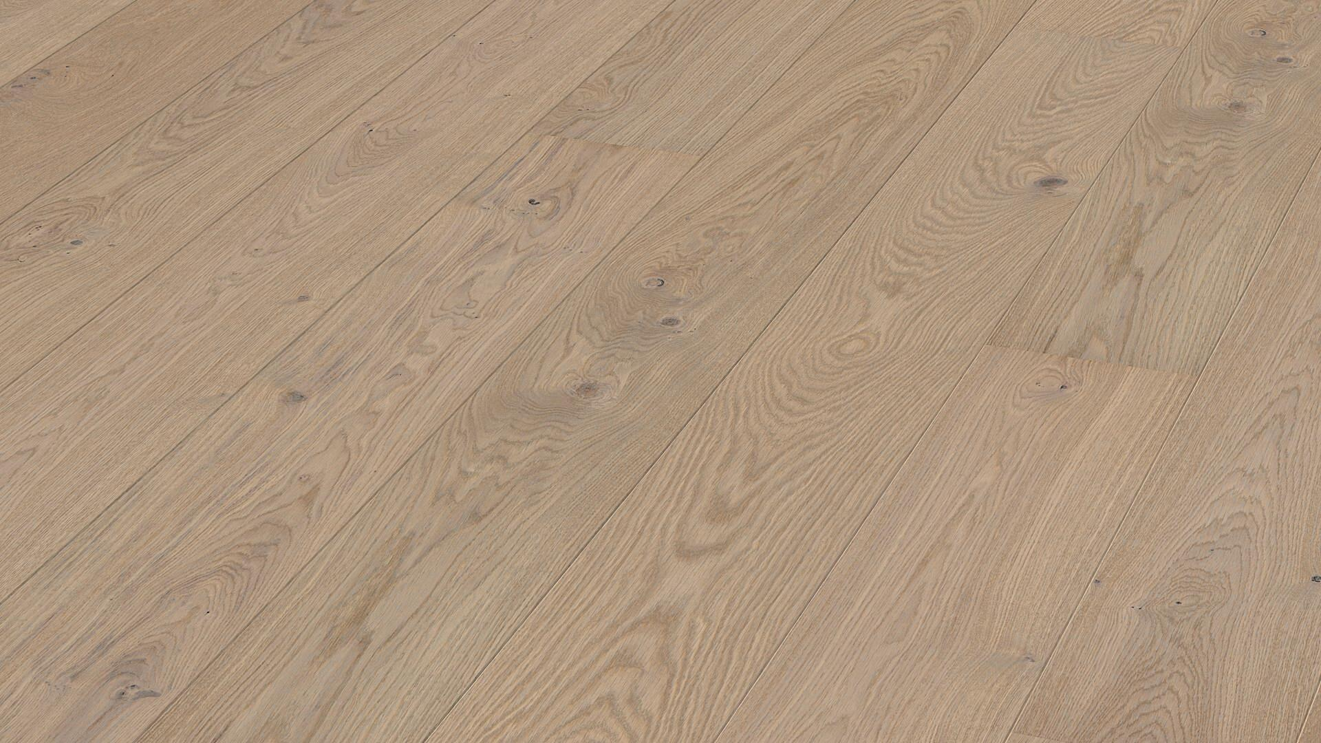 Parquet flooring MeisterParquet. longlife PD 400 Light grey oak lively 8548