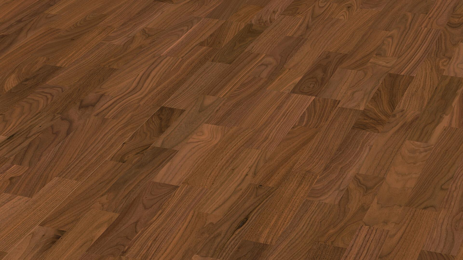 Parquet flooring MeisterParquet. longlife PC 200 American walnut harmonious 960